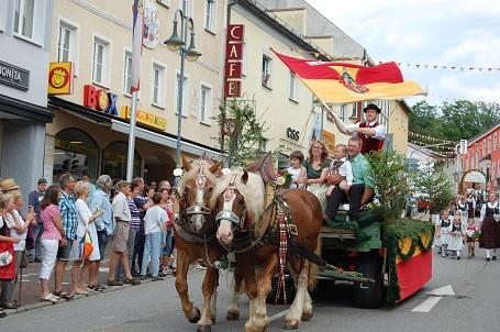 Umzug Grenzlandfest-Zwiesel