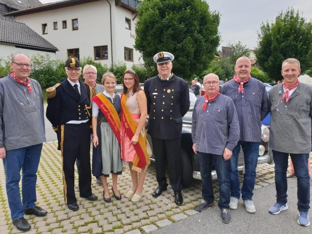 Braker Delegation auf dem Grenzlandfest 2019