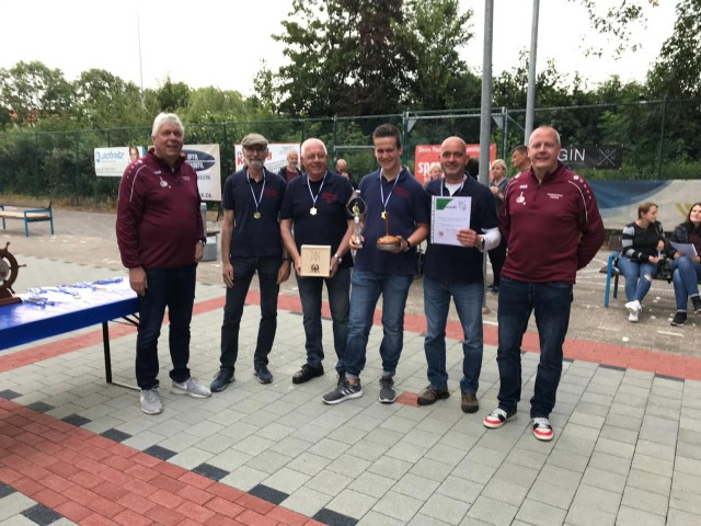 Sieger 2019 – die Herren vom Freundeskreis Zwiesel